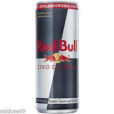 24 Dosen a 250 ml Red Bull Zero Kalorien  incl. 6€ Pf Redbull zuckerfrei