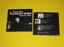 CD PROMO NEUF 3 TITRES / 2 VERSIONS EMMENEZ-MOI DE CHARLES  AZNAVOUR DE 1995