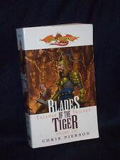 Dragonlance Blades of the Tiger Taladas Trilogy Vol 1 Chris Pierson Used Pb