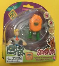 Scooby Doo Fred Figure & Morphing Monster Putty Pack Orange Monster USA SELLER