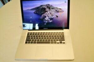 "MacBook Pro 15"" i7 Processor 3.1 GHz Turbo 8GB RAM 500SSD Storage, Optic Drive,"