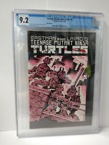 Teenage Mutant Ninja Turtles #1 CGC 9.2 unpressed 3rd Print Mirage Studios1985