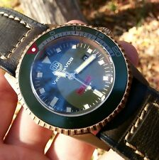 VDB NO LIMIT BRONZE automatic diving watch hand made in Germany