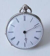 Ancienne petite montre gousset argent 1850 Old small pocket watch Solid silver
