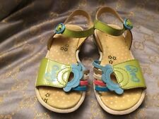 OILILY,Leather Girls Sandals,size 27 EU,Made in ITALY. Discontinued !!!