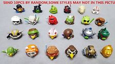NO QR BARCODE 10pcs Random Different Angry Birds Star Wars Figures Telepods Toys