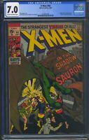 X-Men 60 (Marvel) CGC 7.0 Cream to Off-White Pages 1st appearance of Sauron