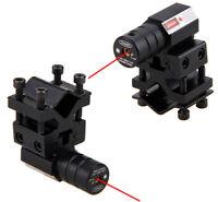 Red Laser Dot Sight Scope For Gun Rifle Pistol Picatinny 11/21MM Barrel Mount