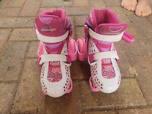 Girls roller skates SFR Stomper Size 10 -13 Adjustable