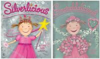 Silverlicious + Emeraldalicious by Victoria Kann, 2 book set Pinkalicious series