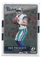 Dak Prescott Rookie Card RC 2016 Donruss Optic The Rookies Dallas Cowboys RC