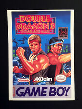 Vintage Toys 'R' Us VIDPRO CARD for DOUBLE DRAGON 3 for the NINTENDO GAME BOY