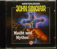 CD Ghost Hunter John Sinclair - Follow 82,Makes and Myth NEW - ORIGINAL