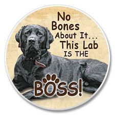 Black Lab No Bones About It....... Auto Coaster Set