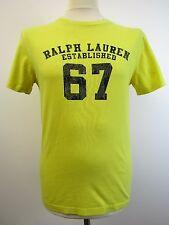 "Smart chicos Limón Ralph Lauren Camiseta Talla L 14-16 38"" pecho"