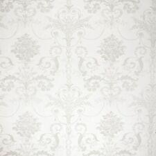 Laura Ashley Josette dove Grey/white Wallpaper Batch: W102609-A/1 price per roll