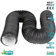 More details for black combi-ducting - 5 metre length flexible air extraction 4,5,6,8,10,12
