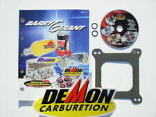 BARRY GRANT TUNING DVD CATALOG BASE & FUEL GASKET STICKER