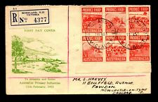 Australia 1953 Food Produce FDC - L14030