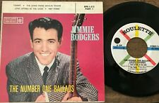 Jimmie Rodgers Number One Ballads Part 1 45 EP With Picture Sleeve Tammy