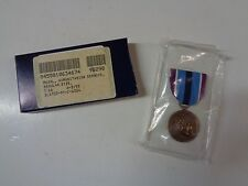 New in Box Military Humanitarian Service Medal Insignia Regular Size 1991