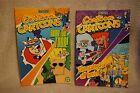 2x CARTOON CARTOONS Comic Digest # 1 & 2 DEXTORS LAB Courage ED EDDYJohnny Bravo