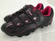 PEARL IZUMI W ALL ROAD 2 Black Pink Cycling Shoes Women's Size 38.5