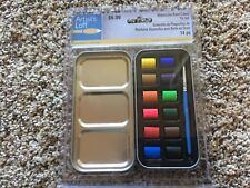 Necessities™ Watercolor Paint Cakes Tin Set By Artist's Loft™ 531942 NEW
