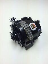 CHEVROLET, OLDSMOBILE, PONTIAC MINI 1 WIRE HO BLACK POWDER COAT ALTERNATOR 105 A