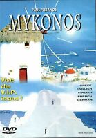 MYKONOS - GREECE GREEK ISLANDS  - DOCUMENTARY  DVD NEW