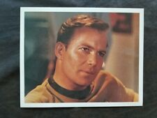"STAR TREK ORIGINAL SERIES (3) 8"" x 10"" PHOTOS - KIRK AND ENTERPRISE"