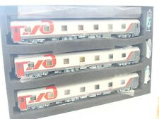 L.S.Models H0 48027 3er Set Schlafwagen WLABmee Berlin - Moscou RZD OVP (KV7438)
