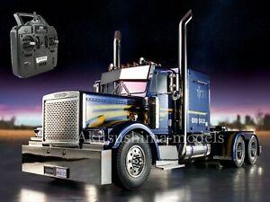 Tamiya RC 1/14 Semi Tractor truck GRAND HAULER RTR FULL Opp  Assembled & Painted