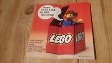 xex  Komm mit ins Land der 1001 Spielideen ! Lego Prospekt von 1974