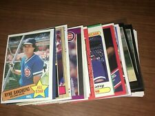 RYNE SANDBERG Baseball Card Pick Any Inserts SP 1985-2000 NM & Better Upick CUBS