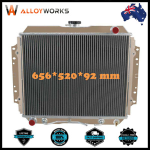 3Rows Aluminium TF Rodeo Radiator for 1987-97 HOLDEN G3 G6 2.2L 2.6L 4cyl Petrol