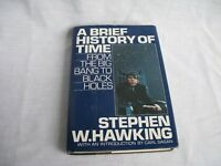 A Brief History of Time. By Stephen Hawking 1st edition
