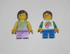 Lego ® Lot x2 Minifig Figurine Couple Enfant Garçon + Fille NEW