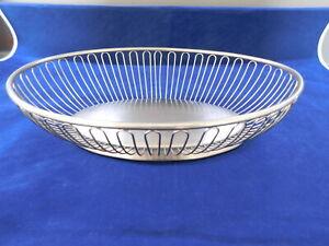 Contemporary Oneida Metal Fruit Bowl