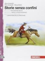 Storie senza confini vol.1 + Leggere i classici, ZANICHELLI scuola 9788808175229