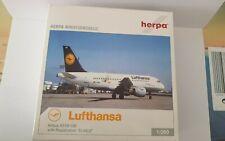 Herpa Wings 1:200 lufthansa, airbus a319-100, lu, D-ailu, estudian Hogan Rare