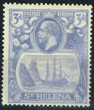 Mint Hinged Single George V (1910-1936) St Helenian Stamps