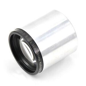 RARE Meopta Meostigmat 119mm F1.9 Projector Lens!