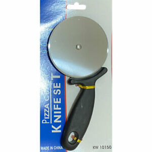 Pizza Cutter Professional Wheel Slicer Stainless Steel Large