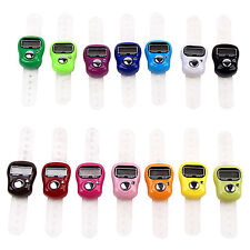 Marvellous Ring Digit Stitch Marker Knitting LCD Tally Counter Cute Row Counter