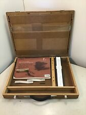 The Ames Draft Pack by Olson Mfg. Co. Iowa Drafting Box for Supplies Table