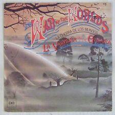 Guerre des mondes 45 tours Jeff Wayne 1978