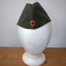 Vintage 1989 West German Bamberger Military Army OD Garrison Hat Cap 56 22""