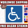 Disabled decal / sticker 85 X 85mm
