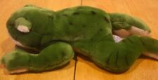 "Russ Yomiko Classics GREEN BULLFROG 11"" Plush STUFFED ANIMAL Toy"
